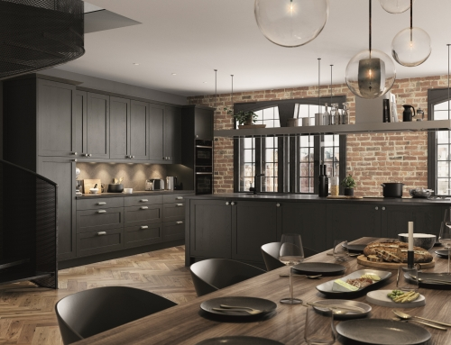 Kitchen Trends – Dark tones