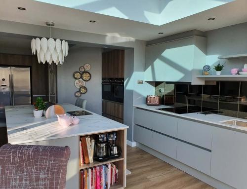 New Kitchen  – Porter in Matt Silver Grey