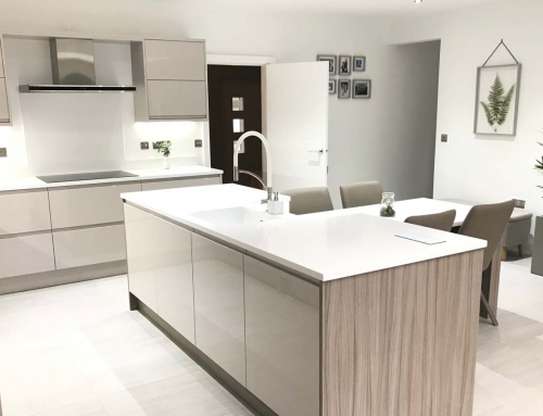 New Kitchen  – Remo in Gloss Cashmere